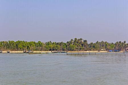 chilika: Coast of Chilika lake, Orissa