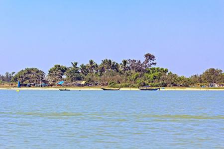 chilika: Filshing village at Chilika lake, Orissa