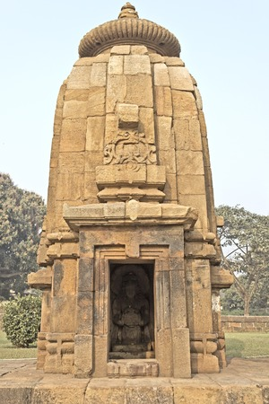 Little temple of Dhanvantari in Bhubaneshwar. Dhanvantari is the form of Lord Vishnu, God of medicine