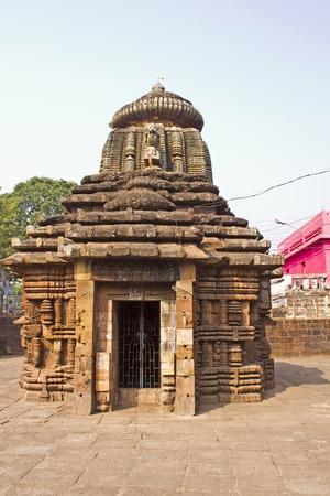 sins: Ancient Papanashini temple in Bhubaneshwar. Papanashini means The destroyeress of sins, it is name of the goddess Durga Stock Photo