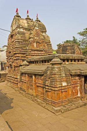 shri: Shri Vaital Deul in Bhubaneshwar. This famous temple built in 8th century and dedicated to the Goddess Kali Stock Photo