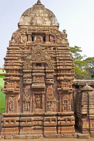 shakti: Shri Vaital Deul in Bhubaneshwar. This famous temple built in 8th century and dedicated to the Goddess Kali Stock Photo