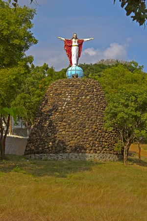 Meditation Park with the sculpture of Jesus Christ photo