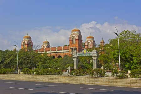 Madras: JAN 30, 2015, CHENNAI, TAMIL NADU, INDIA - Building of the Madras University
