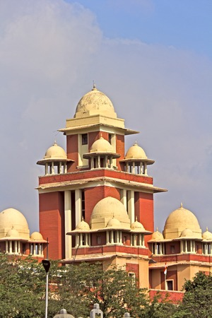 Madras: JAN 30, 2015, CHENNAI, TAMIL NADU, INDIA - Detail of the Madras University