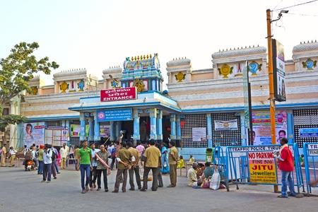 andhra: JAN 31, 2015, TIRUPATI, ANDHRA PRADESH, INDIA - Close to the railway station Editorial