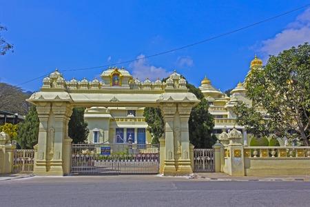 andhra: FEBRUARY 1, 2015, TIRUMALA, ANDHRA PRADESH, INDIA - Museum of Swami Venkateshwar or Balaj, form of Lord Vishnu, in Tirumala