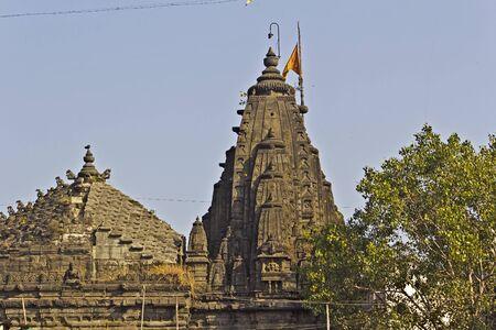 maharashtra: Famous Naroshankar temple at Panchavati area in Nashik, Maharashtra Editorial