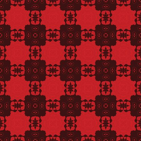 burgundy background: Burgundy background with a red pattern ornament