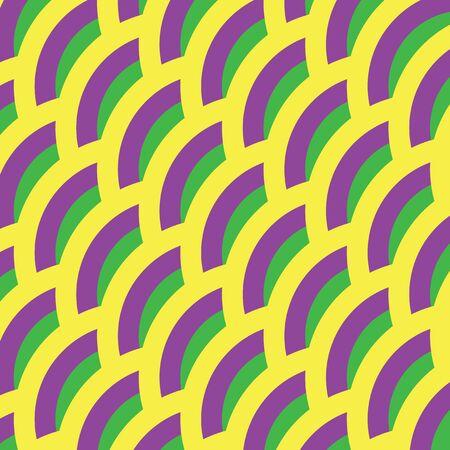 mardi gras background: Mardi gras background. Yellow, green, purple abstract pattern.