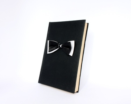 black book with bow tie photo