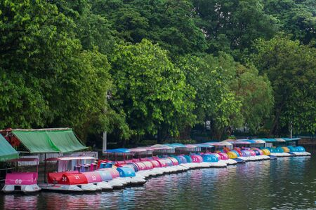 pedal: pedal boats