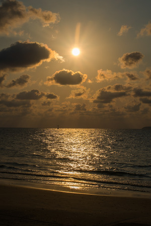 golden: golden sea Stock Photo