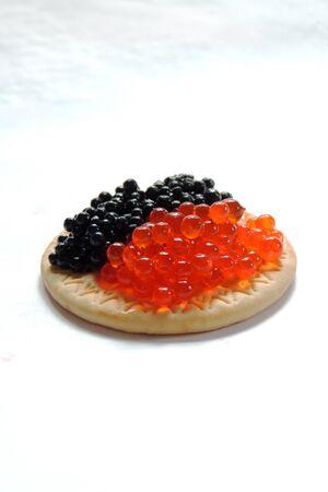 caviar: Black and red caviar