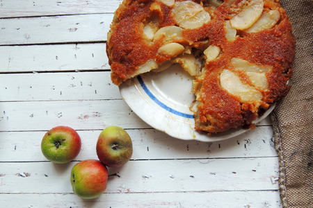 self made: Homemade Organic Apple Pie Dessert Ready to Eat