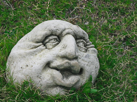 mesoamerica: head from a stone history tourism old