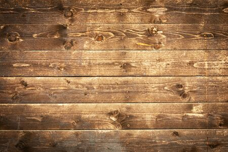 Old wooden wall or flooring background. Texture covering.