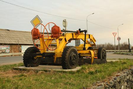 snow removal machine Editorial