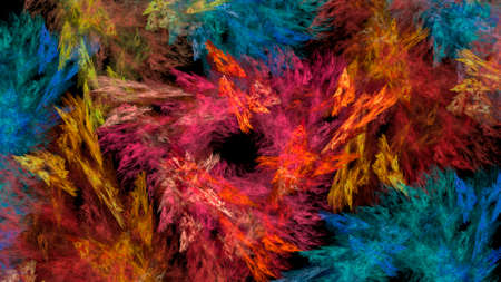 Abstract beautiful fantastic space multicolored background. Used for design and creativity, for screensavers.