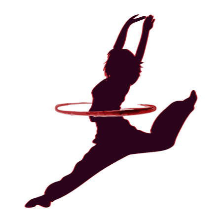 Dance  vector design symbol Vettoriali