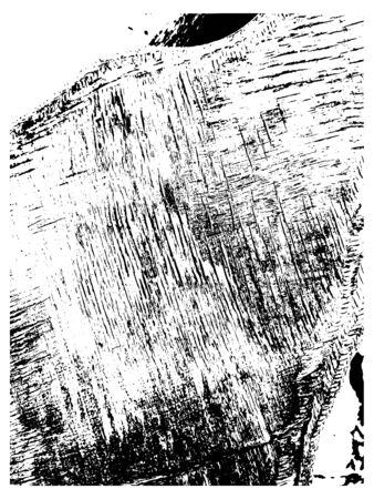 Grunge overlay texture. Dirty grain wood vector  background.