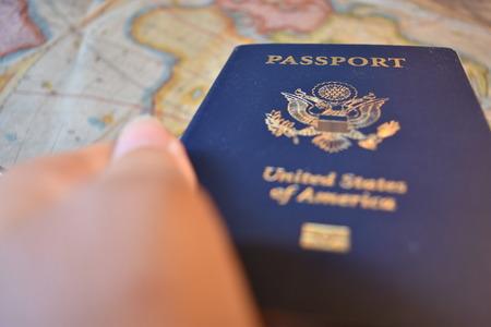US Passport Фото со стока