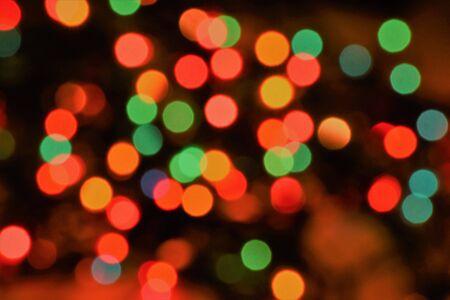 GLOD: christmas light bokeh Stock Photo