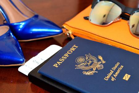 旅行のためのパスポート