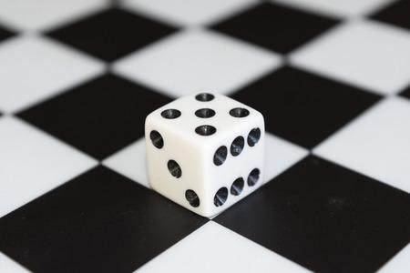 dice and board