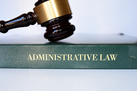 gavel of administrative law