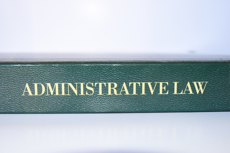 administrative law Stok Fotoğraf