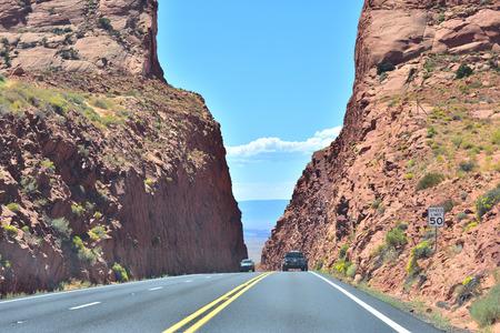 highway in arizona Stok Fotoğraf