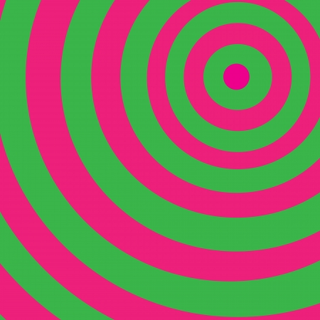 bacground with green and pink circles Illustration