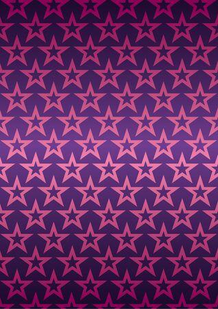background with stars. Vector illustration Ilustracja