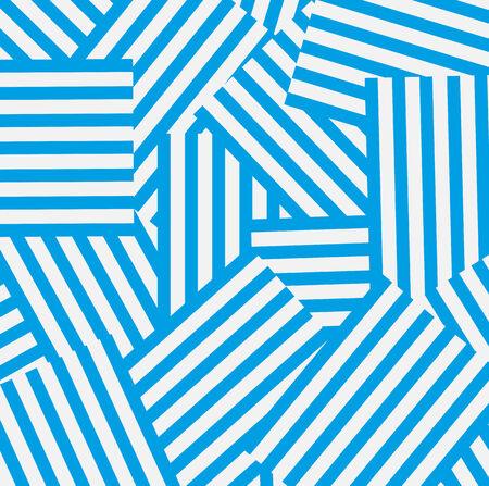 Blue and white striped background Ilustracja