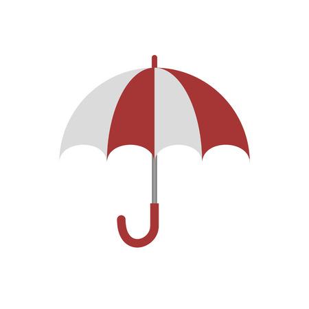 Umbrella sign icon. Ilustracja