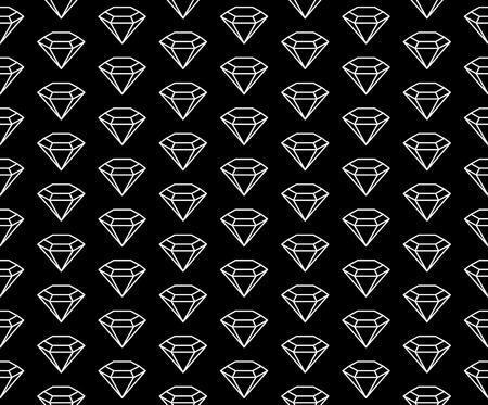 diamonds pattern black and white.
