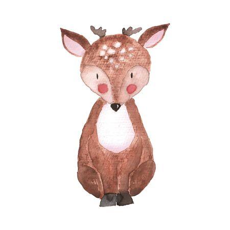 Deer Vector Illustration