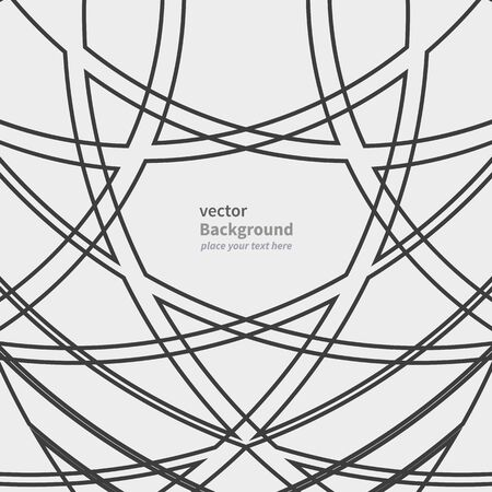 intersect: abstract geometric background pattern with black lines on white background