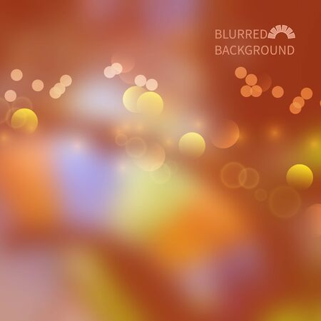 smeared: Vector blurred colorful background with bokeh effect.Gambling hall