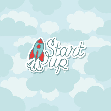 new business: Modern concept for new business project startup, launching new product or service
