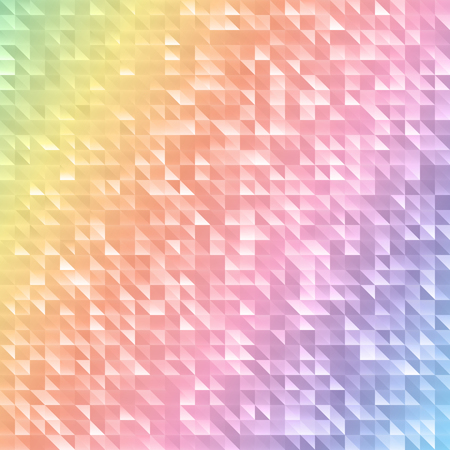 spectrum: Colorful geometric pattern with triangles.Abstract mosaic spectrum background Illustration