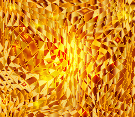 Abstract colored mosaic wave.Background from pieces of glass.Vector illustration