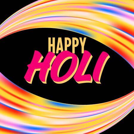 Banner happy holi
