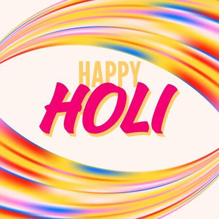 Banner feliz holi