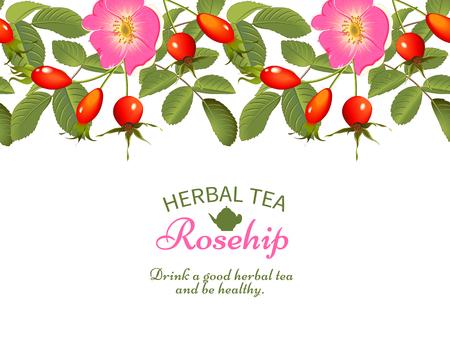 rosa mosqueta té de hierbas.