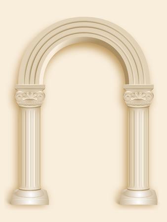 roman column: roman column marble arch