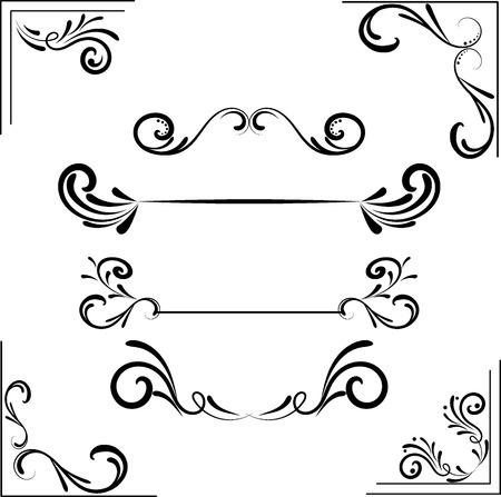 caligraphic: Caligraphic element