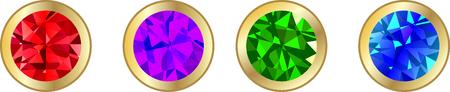 Gemme de diamant, précieux, diamant, bijoux