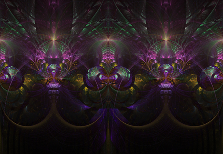 fractal abstract color background 免版税图像